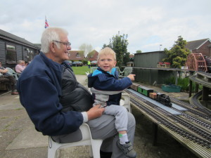 With Grandad